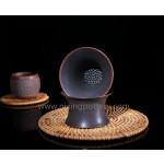 Nixing Pottery Tea Filter Container Guangxi Qinzhou Handmade Tea Ware Tea Infuser