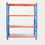 Powder coated tire rack goods shelf longspan shelving