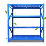 Medium weight 2mx2m metal warehouse selective steel stack racking